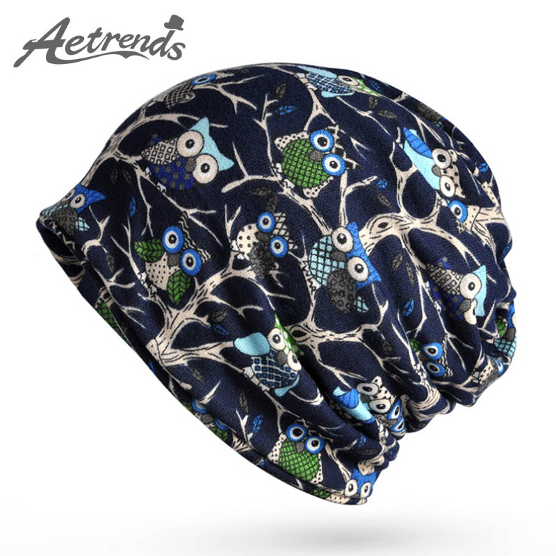 [AETRENDS] 2017 New Style Vintage Beanie Skullies Men Women Bonnet Baggy Hats Z-5085 skullies