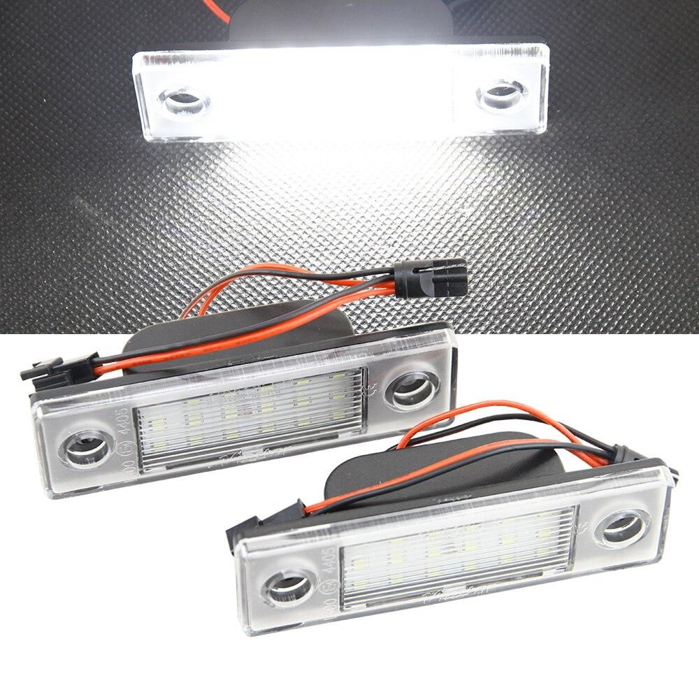 1Pair Car LED number License Plate Light 12V White SMD For Chevrolet Cruze all cars 09~ LED canbus lamp bulb 12V Car Styling