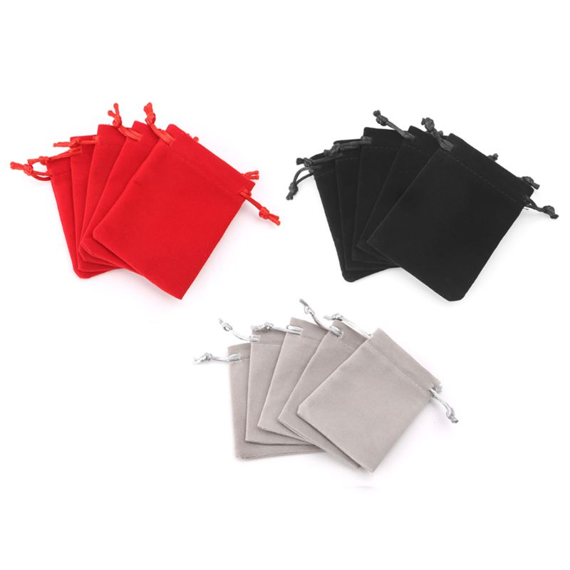 Fee Shipping 5pcs Dungeons And Dragons Dice Bag Velvet Drawstring Bags Tarot Card Jewelry Bag