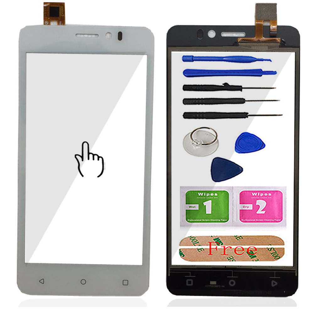 Touch Glass For Prestigio Muze K5 PSP5509 PSP 5509 DUO Touch Screen Glass Digitizer Panel Sensor 5.0'' Mobile Tools Adhesive
