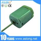 ASLONG FC280SC-20150 Car Door Lock Motor Shaft 22mm Vehicle Power Window Motor / Car Rearview Mirror Motor Electric Motor