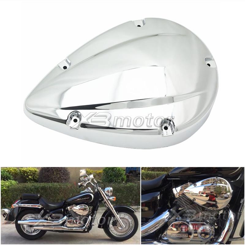 Motorrad Chrome vergaser Luftfilter Filter Abdeckung Cap Für Honda Shadow Aero 750 VT750 C VT750C Geist VT750RS 2004- 2012
