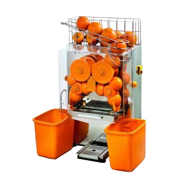 JamieLin Stainless Steel Commercial Auto Fruit Orange Juicer Machine / Industrial Electric Citrus Juice Extractor Price