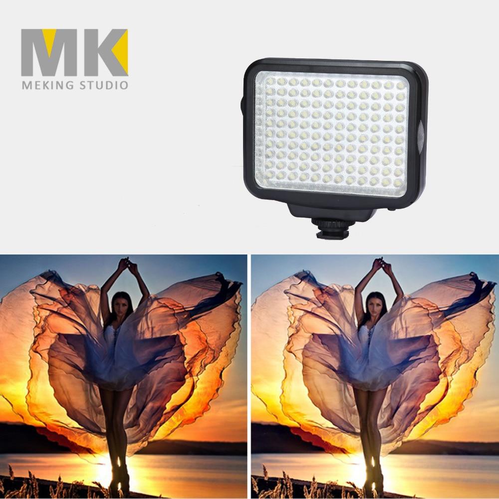 Novi DBK VL-F120 LED-5009 12W 5600K / 3200K kamkorder kamera LED - Kamera i foto - Foto 4