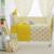 Amarillo lindo de La Corona del Diseño de Los Niños ropa de Cama Cuna Kit, bebé ropa de Cama Cuna Set, bebé ropa de Cama Cuna Para Los Recién Nacidos, varios Tamaño