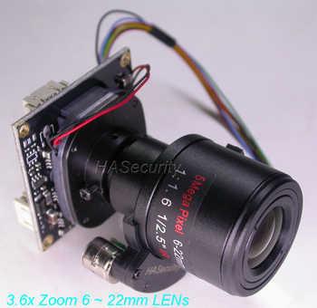 """6-22มิลลิเมตรลู่ซูมและโฟกัสเลนส์AHD/TVI/CVI/CVBS 1/2. 8 \""""Sony Exmor STARVIS IMX291 NVP2441กล้องวงจรปิดPCBคณะกรรมการโมดูล"""