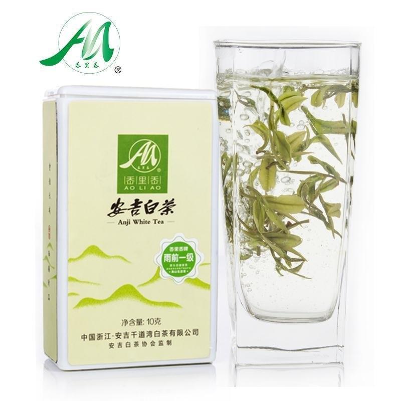 chinese anji organic white tea 250g top silver nee...