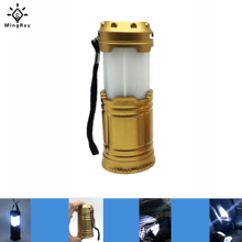 MingRay KB502 Cheap mini LED Lantern for outdoor camping aa Battery collapsible tent Lamp also multifunction Flashlight