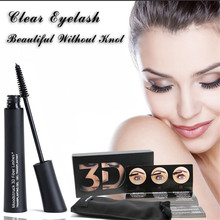Top brand 2pcs/1set unique 3d fiber mascara rimel Makeup lash eyelashes waterproof double mascara maquiagem maquillage Curling