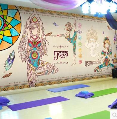 Thailand Yoga 3D Mural Joss figure of Buddha Photo Murals 3D WALLPAPERs for Wall Art Wall Paper Wallcovering papel parede rolo large photo wallpaper bridge over sea blue sky 3d room modern wall paper for walls 3d livingroom mural rolls papel de parede