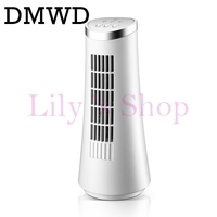DMWD Tower Fan Mini Air Cooling Fan Office Desktop Bladeless Electric Table Mini Air Conditioner Fans