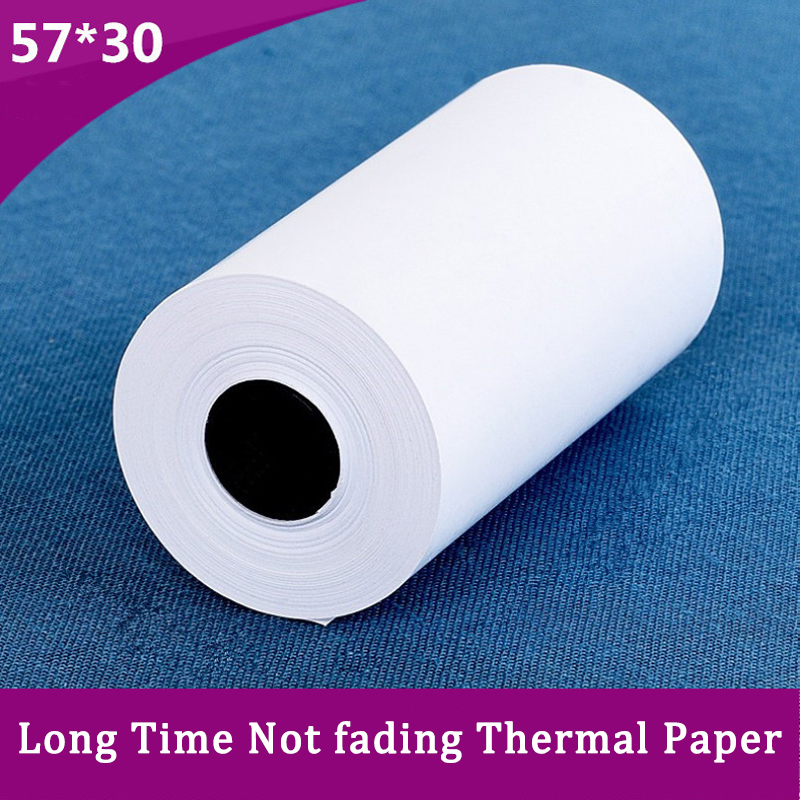 NEW Printing Paper Print Long Time Not Fade 57*30 Thermal Photo Printing Paper 3 Volumes For PAPERANG MEMOBIRD