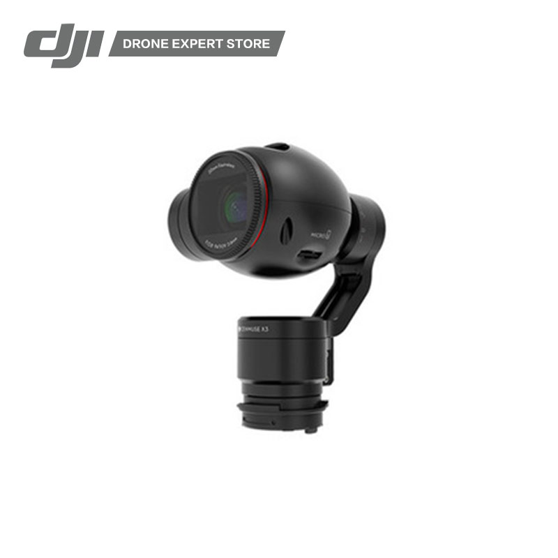 DJI Osmo Gimbal and Camera Ultra HD 4K 30fps/1080p 120fps 12 megapixel resolution 1/2.3 inches CMOS
