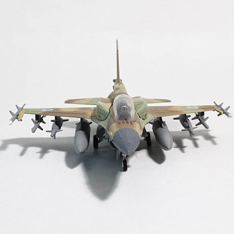 20 CM 1/72 échelle Lockheed Martin F16 l'aviation israélienne avion de chasse avion modèles adultes enfants jouets pour exposition
