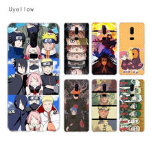 Uyellow Luxury Naruto Anime Trend Silicone Soft Phone Case For One Plus 7 Pro 6 6T 5 5T Shell Fashion Fundas Printed Cover Coque