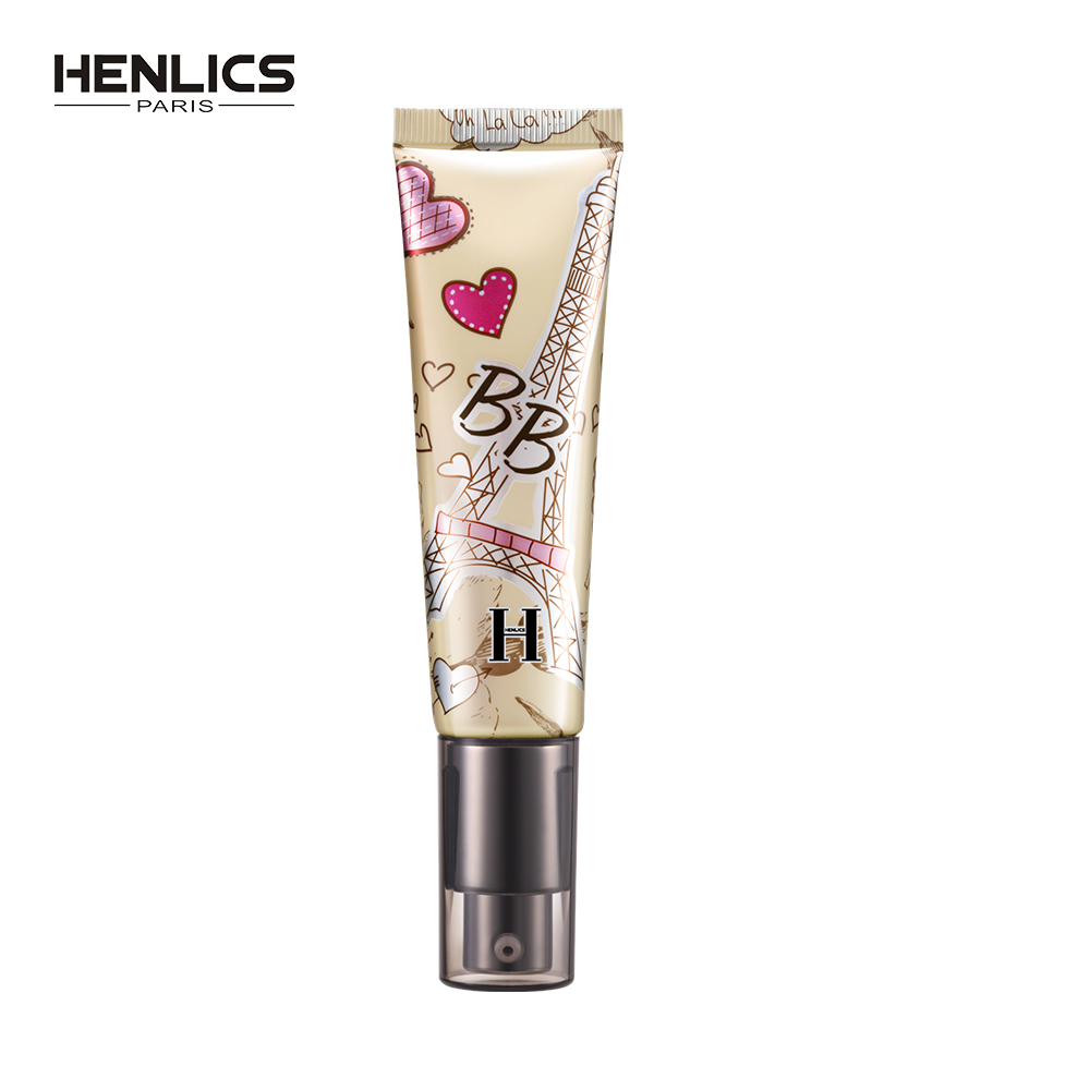 HENLICS Natural Flawless BB Cream Whitening Moisturizing Concealer Nude Foundation Makeup Face Beauty Cosmetic цена
