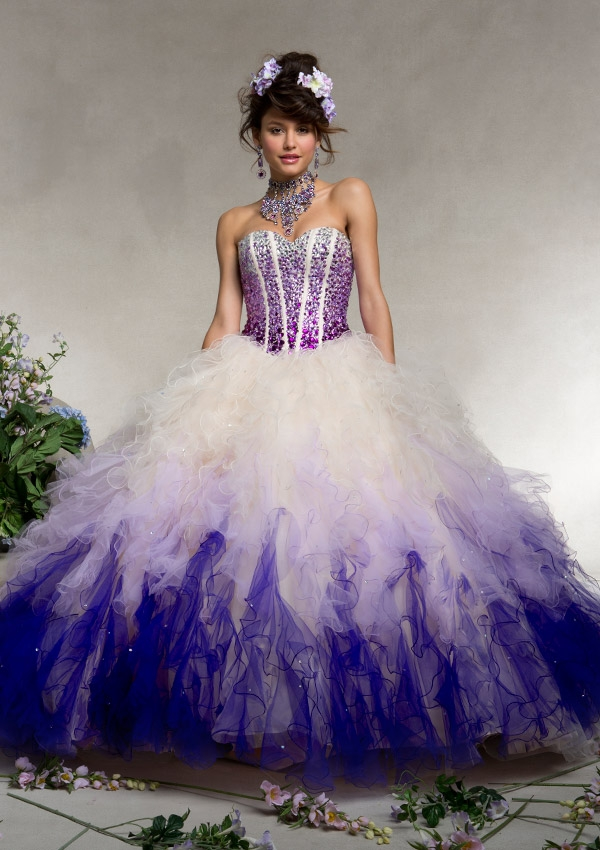 f41a6fa39f4 Blue and White Quinceanera Dresses with Jacket Sweetheart Ruffles Sparkly  Top with Beading Sequin Vestidos De 15AnosL774-in Quinceanera Dresses from  ...