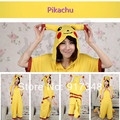 Pokemon Pikachu Summer  for Adults Cartoon Animal Cotton Onesies Pajamas Jumpsuit Hoodies Cosplay Costumes for Adult