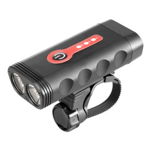 цена на 2019 New USB Rechargeable Bicycle Light Waterproof L2 LED Front Bike Headlight 5 Modes Safety MTB Cycling Torch Built-in Battery
