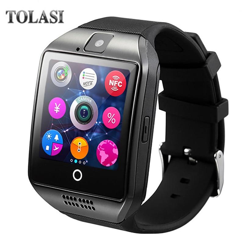 Q18 Fashion Bluetooth Smart Watch Աջակցություն SIM - Կանացի ժամացույցներ - Լուսանկար 1