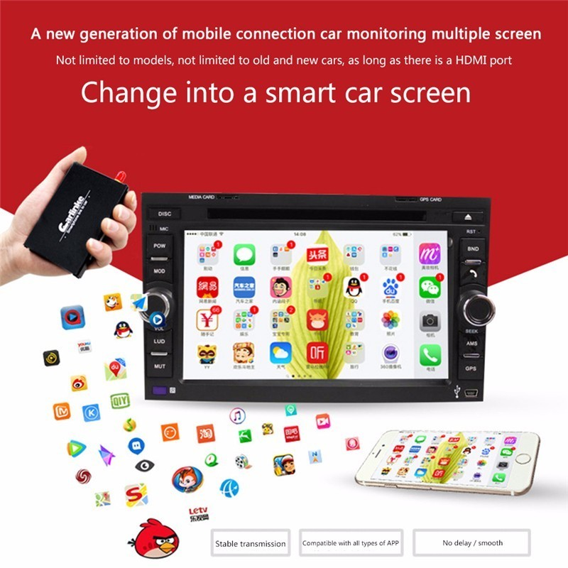 5G WiFi Display Smartphone to Car Navigation Wireless Phone Mirroring Miracast DLNA 2.4G Display Airplay Dual-Band HDMI TV Stick стоимость
