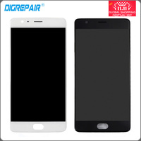 Black White For One Plus OnePlus 3 A3000 A3003 Lcd Display Touch Screen Digitizer With Bezel
