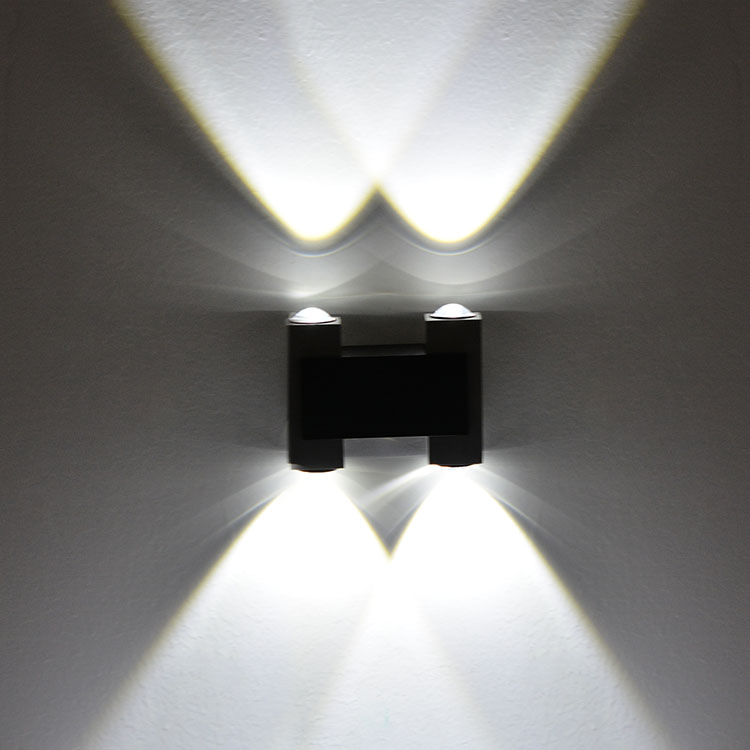 New LED Wall Lamps 4W White/Yellow Color downlight Spot light ...