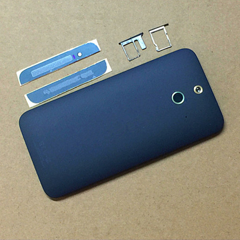 New Full <font><b>Battery</b></font> Back Cover Front Camera Top &#038; Bottom Case For <font><b>HTC</b></font> One <font><b>E8</b></font> M8ST M8SW M8SD Housing Case + SIM SD Card Tray