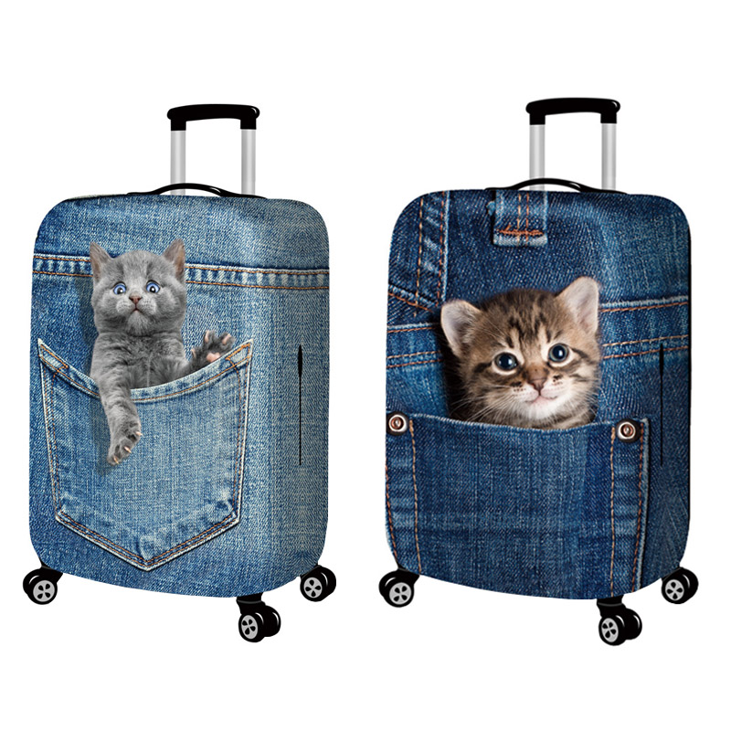 Life-like 3D Pet Pattern Suitcase  4