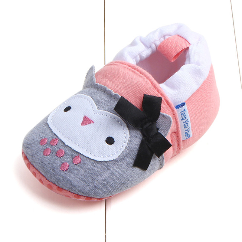 Baby Girl Boy Shoes First Walkers Anti slip Kids Baby Shoes Animal Cartoon Newborn Infant Toddler Soft Sole Crib Shoes Footwear in First Walkers from Mother Kids