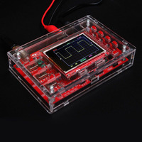 Hot DSO138 Digital Oscilloscope DIY Kit STM32 Tester with Acrylic Case XJS789