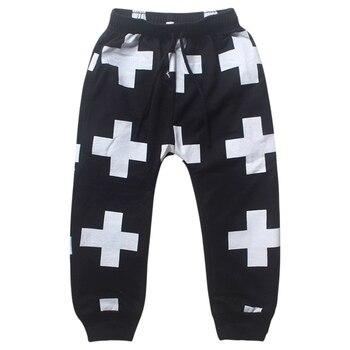 Casual Baby Pants Soft Cotton Harem Pants Kid Bottoms Child Trousers Children Pants for Boys Trousers Girls Harem Pants