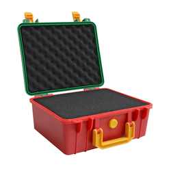 Портативный Безопасный инструмент ящик для инструментов ABS пластиковый ящик для хранения инструментов чемодан герметичный ящик для инстру...