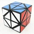 Helicóptero Cubo Lanlan Black/White Magic Cube Cubic Enigma Torção Skewb Torção Borda Virando Enigma Educacional Toy Presente Para crianças