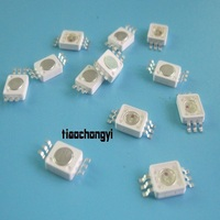 3W 8090 RGB LED 6 Pin High Power Beads LED Lamp Light Dly 10PCS