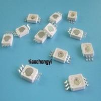 3 W 8090 LED RGB 6 Pines de Alta potencia Granos de la Lámpara LED Luz dly 10 UNIDS