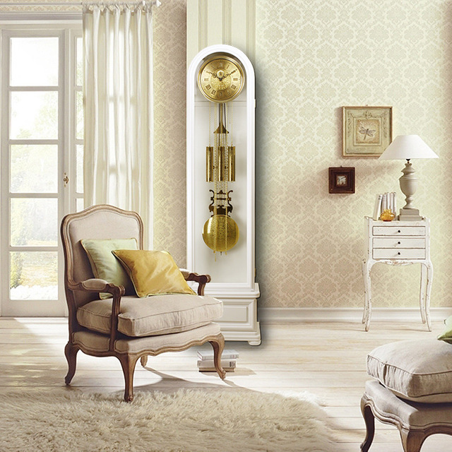 Dhl Free Shipping Mechanical Grandfather Clock The Sitting Room Clocks Solid Wood Desk 40003