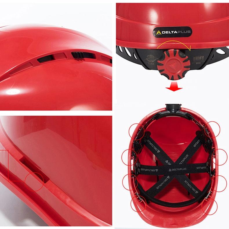 Safety Helmet High density Polypropylene Construction Helmets Breathable Hard Hat Head Protection Security Work Cap PP Helmet (77)