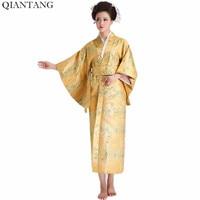 Hot Sale Fashion Women Kimono Yukata Haori With Obi Japanese Style Evening Party Dress Asian Clothing Flower One Size HW041
