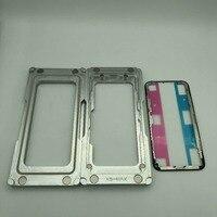 Für iphone XS MAX Laminieren form LCD rahmen Magnetische adsorption positionierung effiziente einfach laminieren für handy reparatur