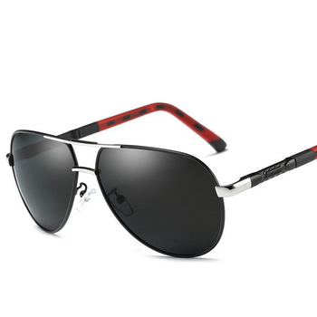 Gafas de sol Unisex Retro de la marca de aluminio polarizadas lentes Vintage gafas accesorios gafas de sol Oculos para hombres y mujeres 8725