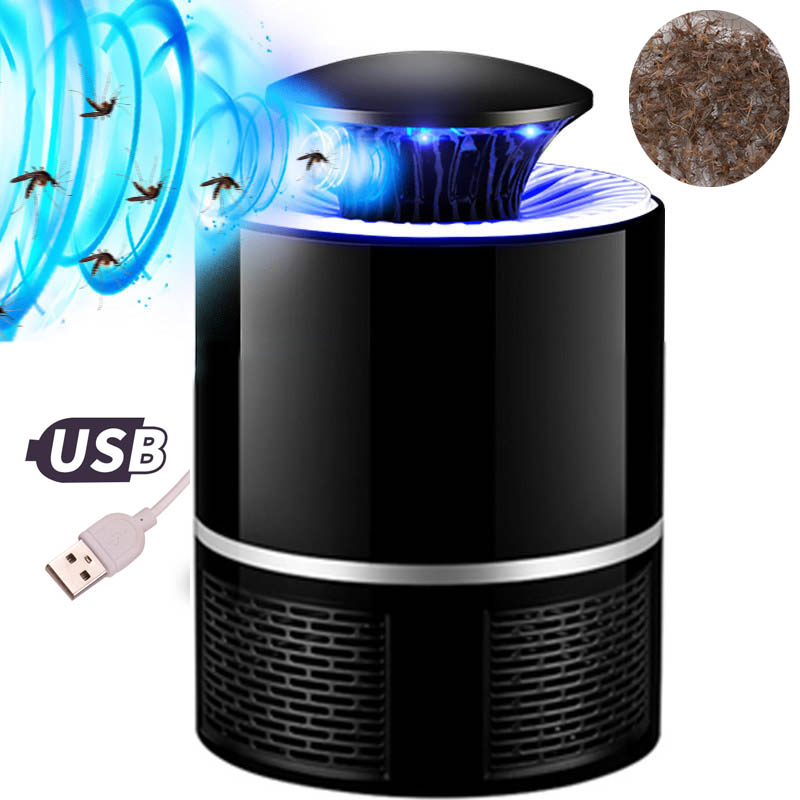 USB Photocatalyst Mosquito Killer Lamp Silent Mosquito Inhalant Light Trap UV Light Killing Catcher Led Zapper Light For Home