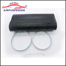 Free Shipping Rear Rubber Air Spring Sleeve With Rings for mercedes W220 Air Suspension Auto Parts Bladder 2203205013