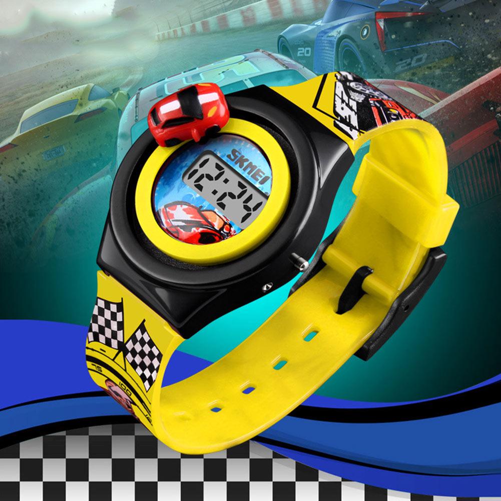font b Children b font Electronic font b Watch b font Racing Track Desigh Wrist