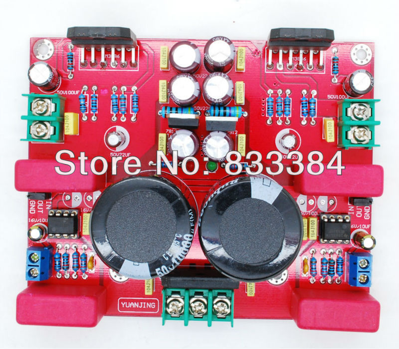 2 x 68W Watt NE5532 + LM3886 Amplifier Audio Board Dual Channel Assembled Board