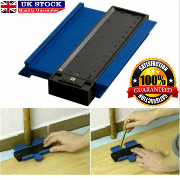 Profile Gauge Tile Skirting Board Laminate Profile Wood Shape Measuring Tool