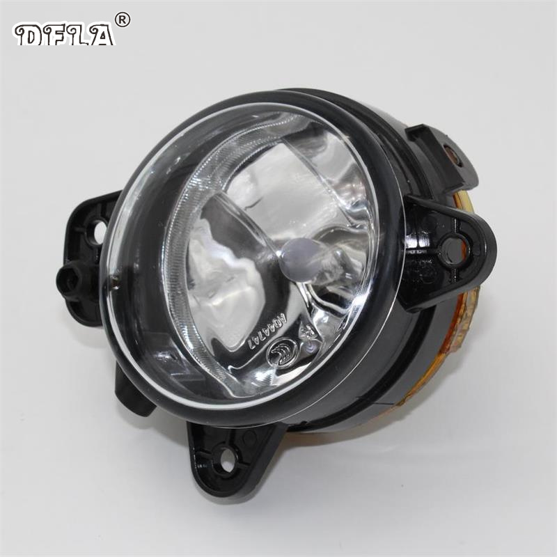 Right Side Car Light For Skoda Fabia 2 MK2 Roomster 2006 2007 2008 2009 2010 Car-styling Front Fog Light Fog Light With Bulb car right