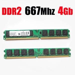 Оперативная память DDR2 667 8 ГБ 8 ГБ 4 ГБ настольная ram ddr 2 4 ГБ 4 ГБ 667 МГц PC2-5300 PC2 5300 (для AMD для всех)-пожизненная Гарантия