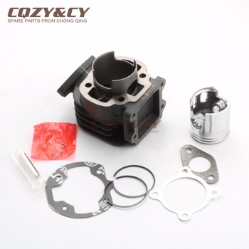 47mm / 10mm 70cc Big Bore Cylinder Kit for MBK Booster 50 Zoll  04-10 Rocket 50 Stunt 50 AC Stunt Naked 50 2T