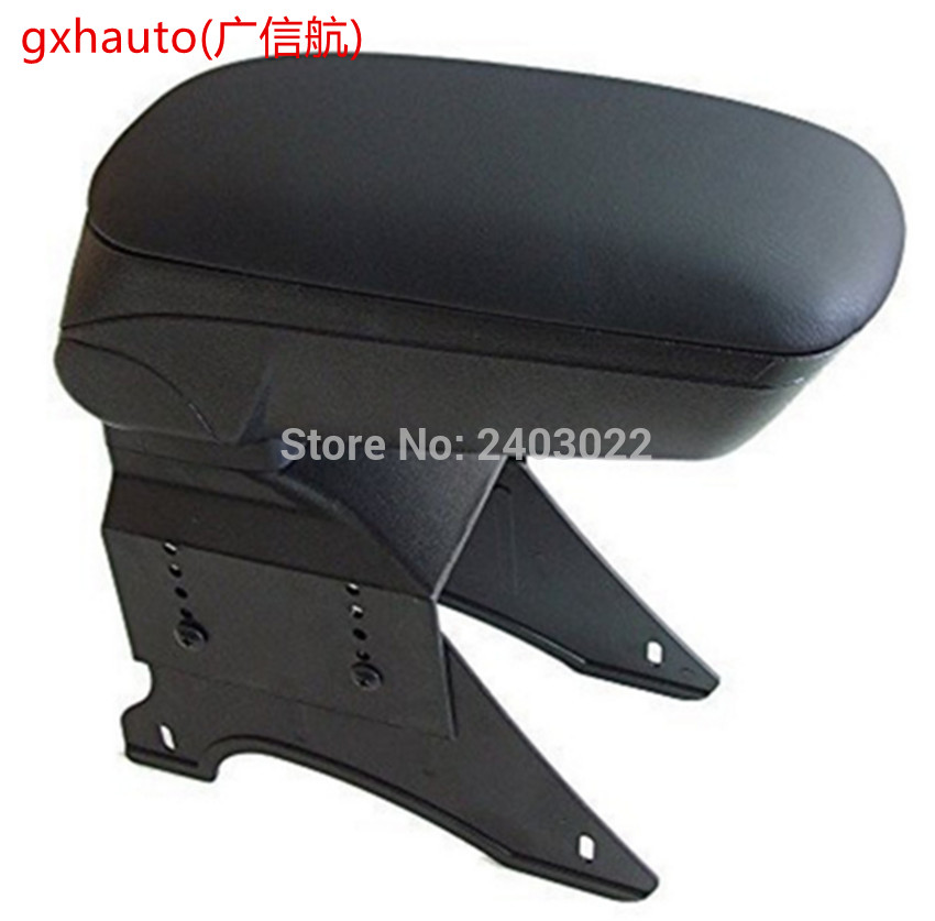 Free Shipping Car ARMREST SEAT UNIVERSAL FIT MOST OF THE CARS Black Car Accessories Auto Center Armrest Console Box Arm Rest in Armrests from Automobiles Motorcycles
